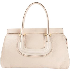 Chloé Tote in Abstract White
