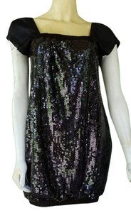 Alexia Admor Sequin Mini Bubble Dress