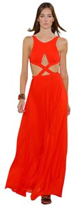 Ralph Lauren Collection Cutout Couture Low Back Gown Dress
