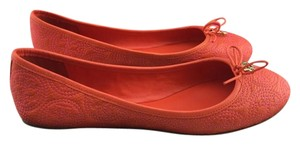 Tory Burch Reva Ballet Orange Flats