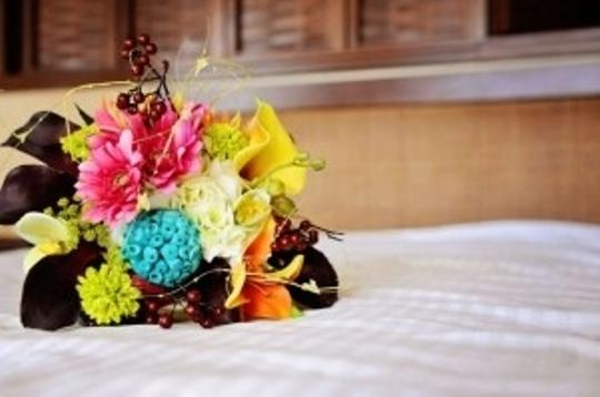 Tropical 6 Bridesmaid Bouquets Other