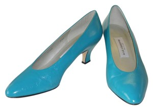 Liz Claiborne Spanish Leather TURQUOISE Pumps