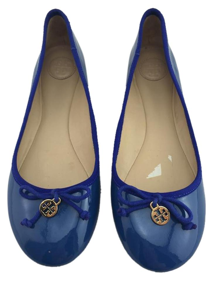 274244369f3a Tory Burch Blue Chelsea Ballet Flats Size US 9.5 - Tradesy
