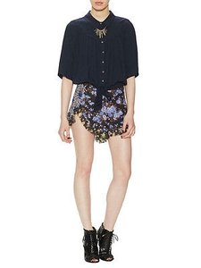 Free People Casual Shorts Multi-Color