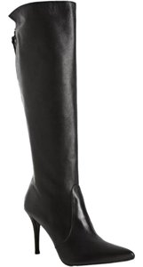 Stuart Weitzman Knee High Tall Boot Leather Black Boots