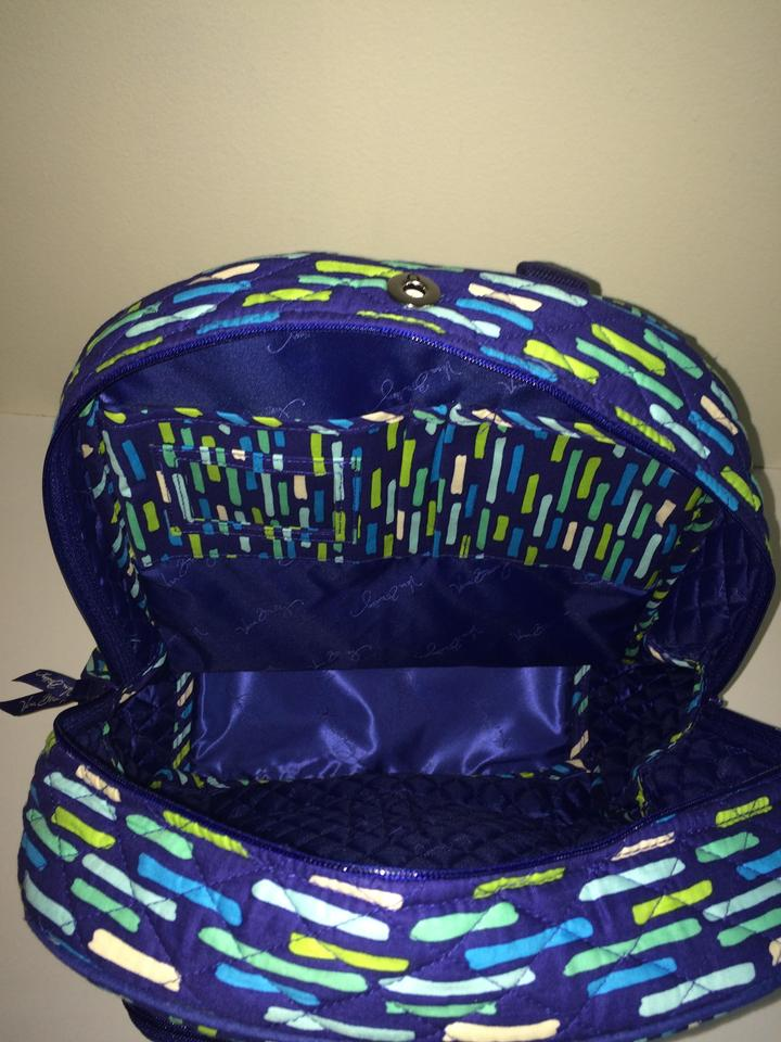 3d49f7d1e1 Vera Bradley Quilted Campus Katalina Showers Cotton Backpack - Tradesy