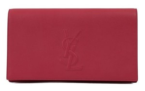 Saint Laurent Ysl 361120 Belle De Jour Pink Clutch