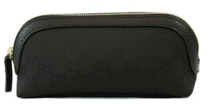 Gucci Gucci 272367 Womens Nylon Gg Guccissima Cosmetic Makeup Case Bag
