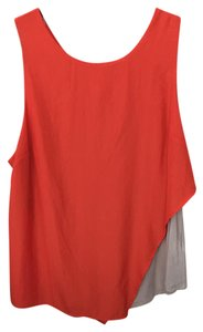 Bordeaux Anthropologie Top Red