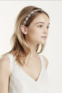 David's Bridal David's Bridal Faceted Cluster Headwrap