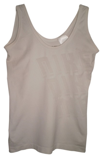 Preload https://item2.tradesy.com/images/nike-white-tank-topcami-size-6-s-183046-0-0.jpg?width=400&height=650