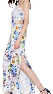 White Maxi Dress by J.O.A. Flora Maxi Tie Bow