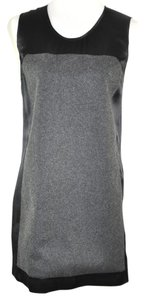 Stella McCartney short dress Black/Grey Paneled Mini on Tradesy