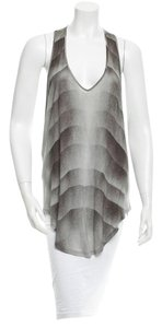 Helmut Lang Racer Back Sleeveless Top Grey