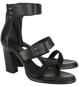 Rag & Bone Night Out Date Night Calfskin Black Sandals