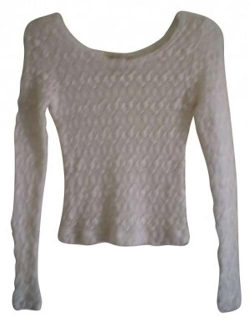 Preload https://item1.tradesy.com/images/bonjour-white-nice-scoop-neck-sweaterpullover-size-8-m-183065-0-0.jpg?width=400&height=650