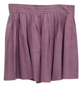 Alice + Olivia Mini Skirt Purple