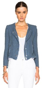 IRO Isabel Marant Elizabeth And James Haute Hippie Dvf Rag & Bone Blue Jacket