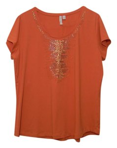 Relativity T Shirt orange