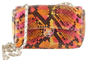 Chanel Python Mini Cross Body Bag