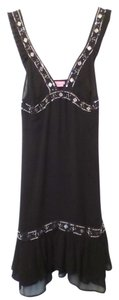 BCBGMAXAZRIA Lbd Silk Bcbg New Beaded Dress