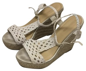 Mossimo Supply Co. Cream Wedges