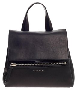 Givenchy Sachel Leather Satchel in Black