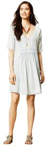 Sam & Lavi short dress Light Blue Anthropologie Fun Boho Chambray Cute on Tradesy