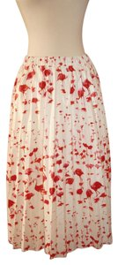 J.Crew Skirt Flamingo Print