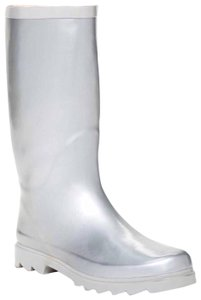 West Blvd Silver Boots