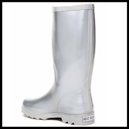 West Blvd Silver Boots Image 3