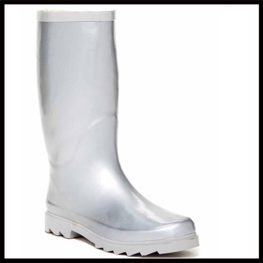 West Blvd Silver Boots Image 6