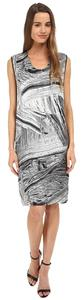 Helmut Lang Silk Method Open Shift Dress