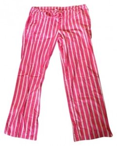 Victoria's Secret Relaxed Pants Pink white yellow