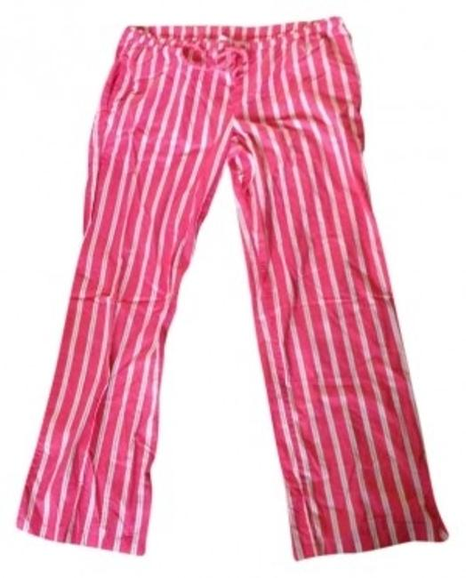 Preload https://img-static.tradesy.com/item/183171/victoria-s-secret-pink-white-yellow-relaxed-fit-pants-size-12-l-32-33-0-0-650-650.jpg
