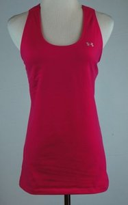 Under Armour Womens Under Armour Heat Gear Tank Top Pink
