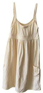 Abercrombie & Fitch short dress light yellow Mini Flowy Summer on Tradesy