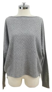 Vince Cashmere Wool Boat Neck Pique Sweater