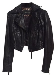 Black Rivet Blac Leather Jacket