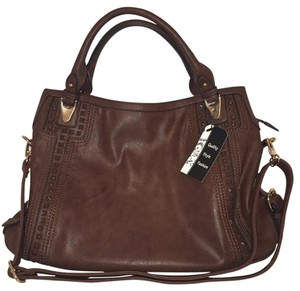 Sorrentino Satchel in Dark Brown