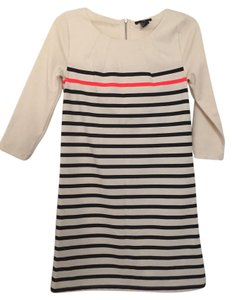 H&M Striped Stripes Black Cream Tunic