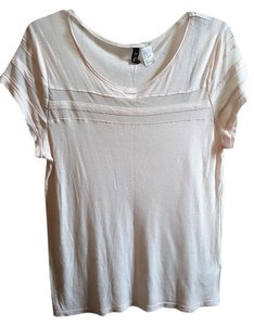 H&M Casual Summer T Shirt Pastel Pink