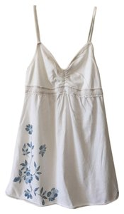 abercrombie kids Floral Print Summer Top white