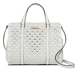Kate Spade Satchel in bright white