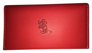 Coach NWT DISNEY X COACH MICKEY MOUSE Red Phone Wallet Limited Edition