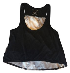 American Eagle Outfitters Top black & white