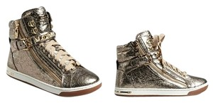 MICHAEL Michael Kors Mk Hightops Sneakers Gold Flats