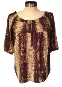 flori Top brown/beige
