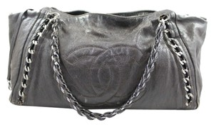 Chanel Classic Timeless Grand Tote in Dark Brown
