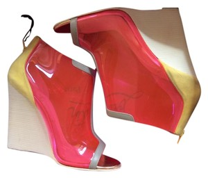 Christian Louboutin Multi color Wedges